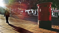 20170717_190842-02-Gaol Hill-Norwich-UK (suzyhazelwood) Tags: gaolhill norwich norfolk postbox roads streets streetphotography city samsung s4mini cell phone photography mobile creativecommons