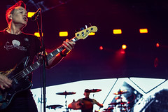 Blink 182 (Del Robertson) Tags: blink 182 performing the glasgow sse arena
