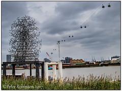 North Greenwich Quantum Cloud (Antirrhinum) Tags: quantumcloud antony gormley art greenwich london