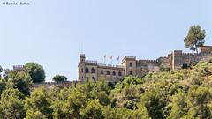 DSC8101 Castillo de Xátiva, Palacio Neogótico, s. XX (Valencia) (Ramón Muñoz - ARTE) Tags: castillo de xátiva valencia játiva palacio neogótico murallas