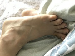 Sleeping (Ped-antics) Tags: feet female foot femalefeet footfetish toes heels ankles arches amateur sexy soles sexyfem‎alefeettoessandalstoesbarelegsanklesheelshighheelsmulesslidessoles