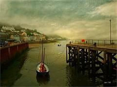 I Want to Break Free (Jan 130) Tags: boats tethered gulls pier morning mist fog uk aberdyfi aberdovey walesuk song jan130