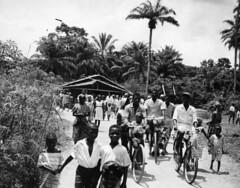 After church 1963 Nigeria (Mennonite Church USA Archives) Tags: nigeria