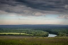Ульяновская область. Вид на реку Сура (KIR1984 photos) Tags: green nature ульяновск river река сура поле тучи природа