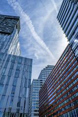 red stripes (pierre bakker) Tags: amsterdam noordholland netherlands nl zuidas building buildings architectuur architecture
