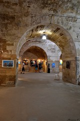 Bastion Royal... expo de Annick Butelet (florence.V) Tags: france poitoucharentes charentemaritime 17 iledoléron lechâteaudoléron citadelle bastion expo