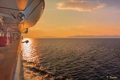 _ROD0843- (T. Dosuna) Tags: seleccionar d7100 paisaje atardecer islas griegas alta mar barco