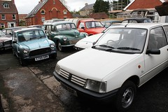Mathewsons (Lazenby43) Tags: 205 mini allegro minor 924 rover capri