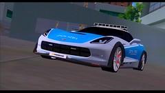 Corvette Stingray Polizei Car By Klv_3D (gabrielaparessido) Tags: corvette stingray polizei car by klv3d ekip gta san enbpcbom2017 realista carros mod enbcomaguárealista