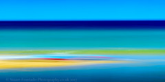 Sand bar (Stuart Feurtado) Tags: sand color icm beach abstract sea outdoor cornwall coast seascape colour