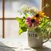 Faith (Captured Heart) Tags: faith flowers summertime summerflowers bouquet coneflowers queenanneslace floralarrangement window