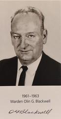 Warden Olin Blackwell (Charles Dawson) Tags: alcatraz