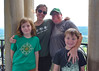 at the top of the chimes tower (Los Liffords de Tejas) Tags: leah graham cheris luka