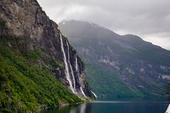 Geiranger Fjord - Sieben Schwestern (Lichtfänger76) Tags: geiranger fjord norwegen nikon d5100 wasserfälle sieben schwestern