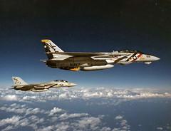 VF-2 Bounty Hunters F-14A Tomcat BuNo 162606 (skyhawkpc) Tags: navy usn naval aviation aircraft airplane usnavy grumman ussranger vf2bountyhunters f14a tomcat 162606 ne201 inflight ne202 1997 military