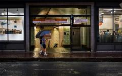 Chinatown Orange Line, Boston (Charles Steven 103) Tags: chinatown umbrella rain boston