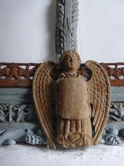 All Saints Church, Selworthy (carolyngifford) Tags: allsaintschurchselworthy selworthy exmoor angels carving