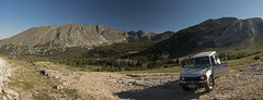 The High Point (s_jenkV2) Tags: hecla trapper lion city ghost mining town pioneer pioneers mountain mountains range pano panorama mt 406 wide shot canon 70d 2017 summer evening image