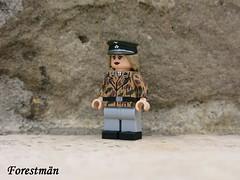 ss Panzerfrau (Forestmän) Tags: lego ww2 wwii war custom waffen ss tank commander