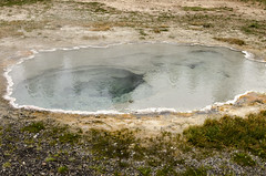 Hot Spring (rschnaible) Tags: yellowstone national park us usa wyoming outdoor sightseeing landscape hot spring geyser
