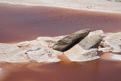 DE5_2031 (takkotakko) Tags: san ignacio lagoon laguna red mineral water bacteria color baja california mexico sur norte summer travel people mexican mexicano