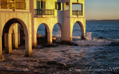 winter sunset 20177 (WITHIN the FRAME Photography(5 Million views tha) Tags: architecture coastal arches balconies seascape surf sunset travels clubmykonos southafrica fuji xt1 fujinon fujilove
