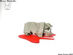 Jeune Orphelin - Barth Dunkan. (Magic Fingaz) Tags: badak barthdunkan nashorn neushoorngergedan rhinoceros rinoceronte ρινόκερωσ носоріг носорог 코뿔소 サイ 犀牛