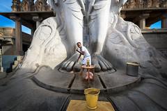 """Shravanabelagola - Hassan (dsaravanane) Tags: saravanan dhandapani dsaravanane yesdee """"yesdeephotography"""" """"yesdee"""" """"saravanandhandapani"""" nikon """"nikond800"""" shravanabelagola channarayapatna hassan karnataka"""