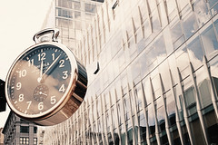 Time in Brooklyn (VIProduction) Tags: clock time downtown downtownbrooklyn building buildings architecture canon canon6d canonphotos view visual versatileimage brooklyn beauty beautiful sepia nyc newyorkcity newyork nycstreets ny mirror amour art architect artist reflection day flickr graphic graphicdesign photography photographer pointofview photo outdoors outside inspire inspiring unity travel timetravel walking