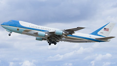 SAM 45 - 28000 (R. Clément (MrClemfly) Photography) Tags: airforceone usaf orly paris ory lfpo adp france usa