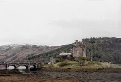 Scottish Highlands (Rebecca Sather) Tags: scotland highlands scottishhighlands travel film 35mm 35mmfilm olympustrip35 olympus filmphotography eilean donan castle scottish eileandonan