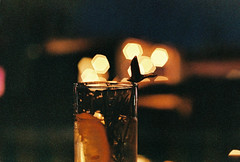 .have another drink. (Camila Guerreiro) Tags: film expiredfilm pentaxmesuper fuji southkorea seoul camilaguerreiro expired natura1600 grain analog lights night