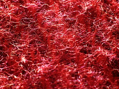 Warning: May cause Irritation (arjan.jongkees) Tags: texture macromonday arjanjongkees itchy scratchy wool blanket red fibers macro merinowool