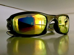 Oakley Fives Squared with Revant Optics Lenses (Lee Storey - Photographer) Tags: revant optics oakley fives squared gold replacement discontinued fine quality lenses polarized hd impact resistant