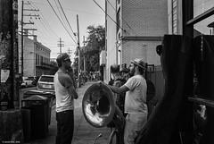 (jsrice00) Tags: leicammonochrom246 35mm f14 summilux asph 35mmf14summiluxasph nola neworleans streetphotography tuba jazz