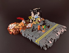 This is it- (UrAsSaneAsIAm) Tags: lego post apocalypse
