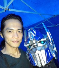 Optimus (weaponplus) Tags: thelastknight optimusprime autobots transformers mallofasia cosplay transformerscosplay