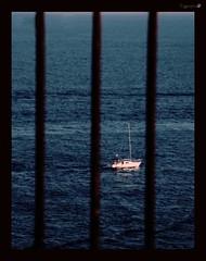 A sense of freedom (tiggerpics2010) Tags: sea sailing prison bars view wishing longing yearning hoping