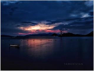 Sunset at Turgutreis, Bodrum, Turkiye.