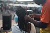 Dreaded Lock (Rushay) Tags: 50mm africa african dreadlocks hair hands locs nikond810 portelizabeth portrait southafrica twisting