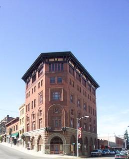 Helena Montana ~ Iron Front Hotel  1888 ~  Historic