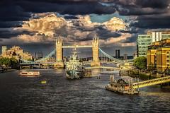 Tower Bridge London (Roman Achrainer) Tags: towerbridge london tower brücke england grosbritanien vereinigteskönigreich themse flus achrainer