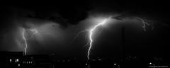 Thunderstorm (fozzie88) Tags: blitze blackwhite black white thunder thunderstorm flash strike thunderbolt gewitter nature dramatic night nacht