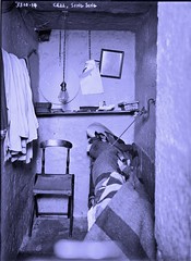 A cell at Sing Sing Prison [Bain] ca1914 (SSAVE over 12 MILLION views THX) Tags: singsing prison prisoners