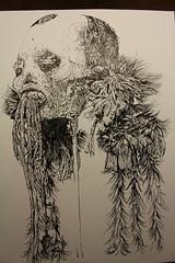 Munduruku (mc1984) Tags: drawings mc1984 momie mummy ink paper