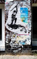 HH-Wheatpaste 3333 (cmdpirx) Tags: hamburg germany reclaim your city urban street art streetart artist kuenstler graffiti aerosol spray can paint piece painting drawing colour color farbe spraydose dose marker stift kreide chalk stencil schablone wall wand nikon d7100 paper pappe paste up pastup pastie wheatepaste wheatpaste pasted glue kleister kleber cement cutout fckg20 fck g20
