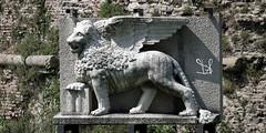 Leone di San Marco, Parco Fistomba, Padova (Davide Anselmi) Tags: leone leonedisanmarco padova parcofistomba pietra sanmarco scultura davideanselmi 2017