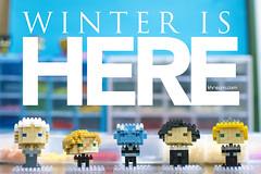 Winter is here (khamer_manialung) Tags: got7 game thrones tyrion lannister jon snow cersei night king daenerys targaryen hbo