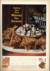 Betty Crocker brownie mix, 1964 (Nesster) Tags: good housekeeping magazine april 1964 vintage print ad advert advertisement