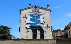 Temps de flors_0001 (Joanbrebo) Tags: girona catalunya españa es streetart pintadas murales murals grafitis canoneos80d efs1018mmf4556isstm autofocus eosd